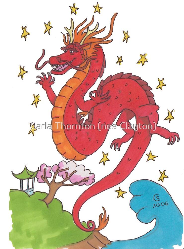 Chinese Dragon by Carla Thornton (nee Clayton)