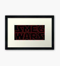 SMEG WARS Framed Print