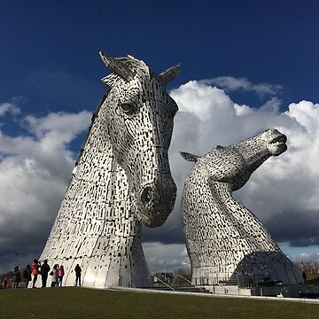 The Kelpies, Helix Park , Grangemouth by goldyart