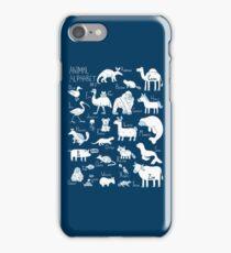 Animal Alphabet #2 iPhone Case/Skin