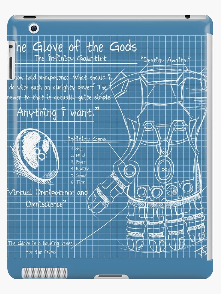 Vinilos y fundas para ipad infinity gauntlet blueprint de jade infinity gauntlet blueprint malvernweather Gallery