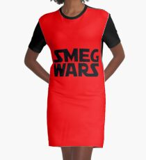 SMEG WARS Graphic T-Shirt Dress