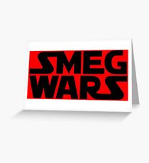 SMEG WARS Greeting Card