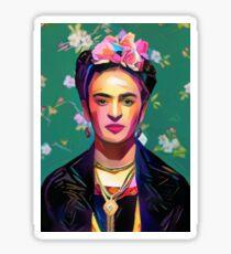 Frida Kahlo Painting Sticker
