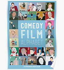Comedy Film Alphabet Poster