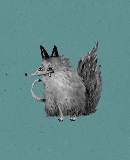 Cheeky Wolf by Sophie Corrigan
