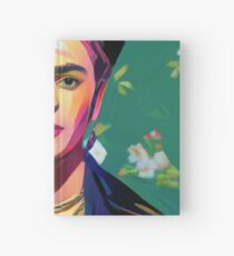 Frida Kahlo Painting Hardcover Journal
