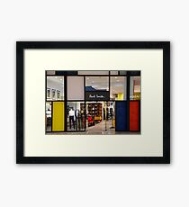 Paul Smith Vs. Piet Mondrian Framed Print