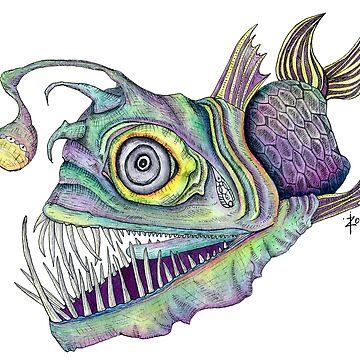 Psychedelic Angler Fish   by ZoJones