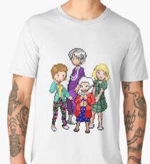 8-Bit Golden Girls Men's Premium T-Shirt