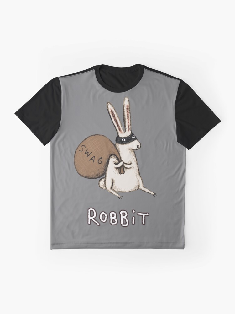 Alternate view of Robbit Graphic T-Shirt