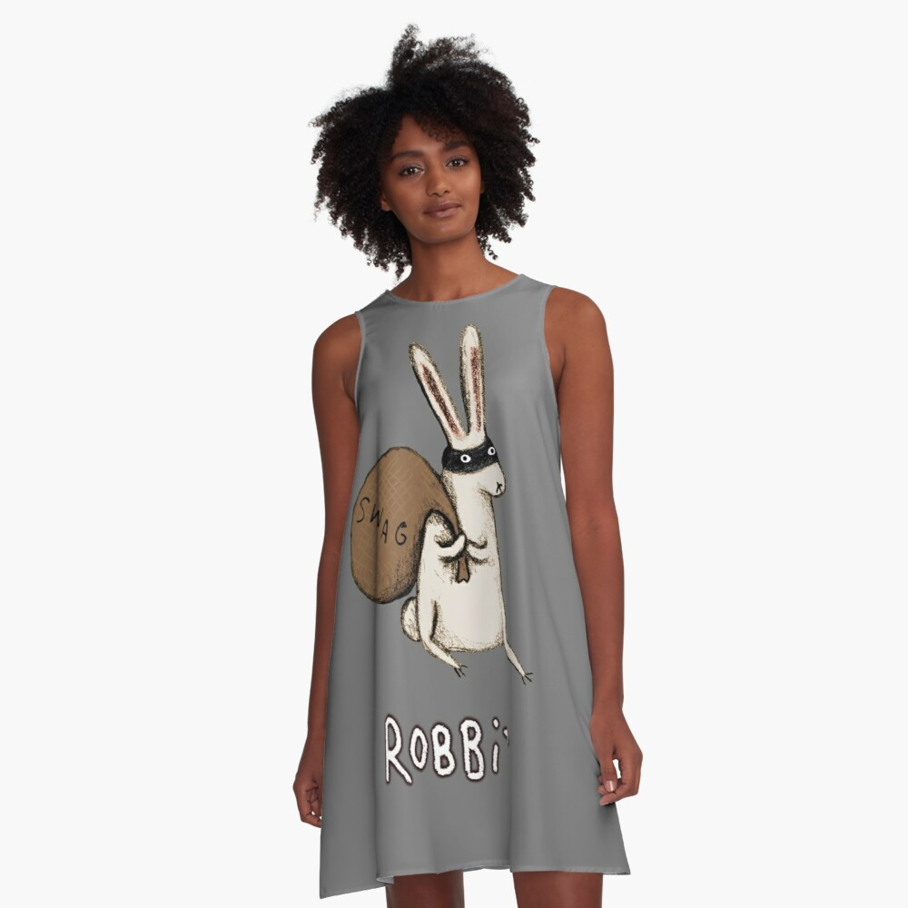 Robbit A-Line Dress
