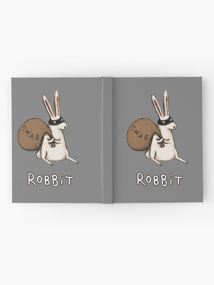 Alternate view of Robbit Hardcover Journal