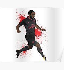 Alexandre Lacazette - Arsenal Poster