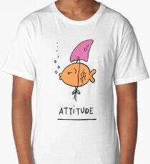Fish Attitude Long T-Shirt
