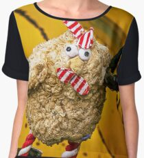 Chicken Truck Driver Women's Chiffon Top