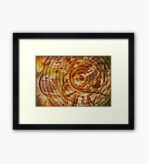 Interference Framed Print