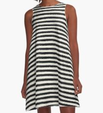 Striped Drive A-Line Dress