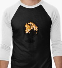 We burned it. Men's Baseball ¾ T-Shirt
