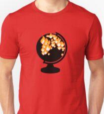 We burned it. Unisex T-Shirt