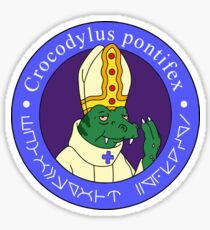 The Space Pope Sticker