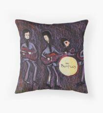 The Beatles Throw Pillow