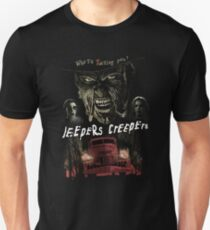 Jeepers Creepes (Only works with Black) T-Shirt