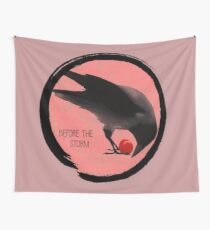 Before the Storm - Crow - Life is Strange 1.5 Wall Tapestry