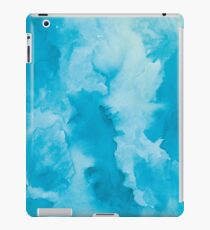 Watercolor blue clouds iPad Case/Skin