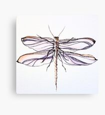 Dragonfly mystery Canvas Print