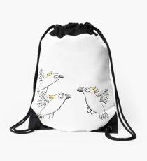 Kakadu - Cockatoo - Papagei - Parrot Drawstring Bag