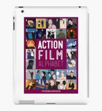 Action Film Alphabet iPad Case/Skin