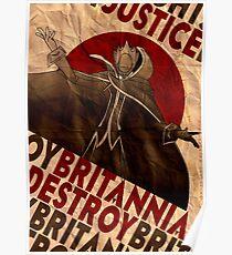 Code Geass | Lelouch Zero propaganda | Justice will prevail  Poster