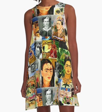 Obsessed with Frida Kahlo A-Line Dress