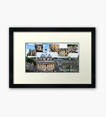 An Oxford Story Framed Print