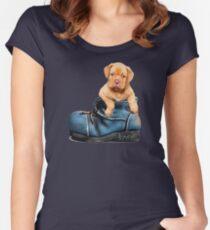 Dog - Kawaii aka Cute Women's Fitted Scoop T-Shirt