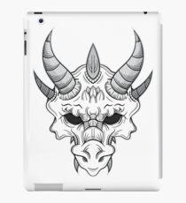 Dragon Skull B/W iPad Case/Skin