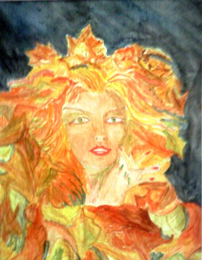 Autumn Queen by GEORGE SANDERSON