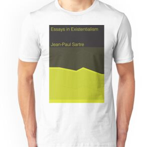 jean paul sartre essays in existentialism t shirts hoodies by unisex t shirt