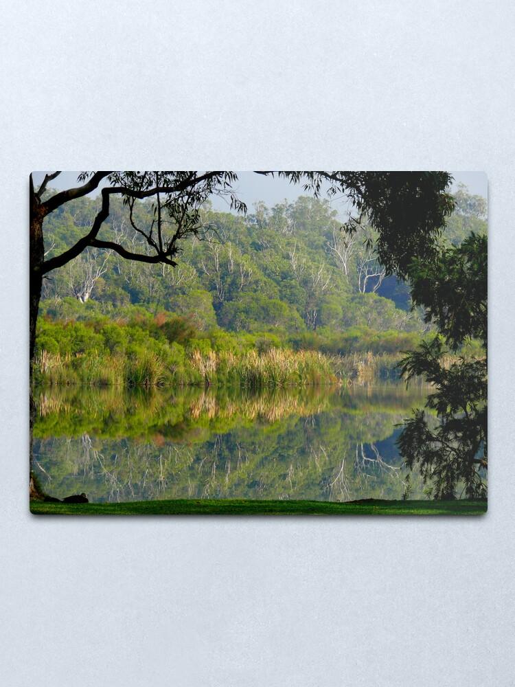 Alternate view of Nature's Window Metal Print