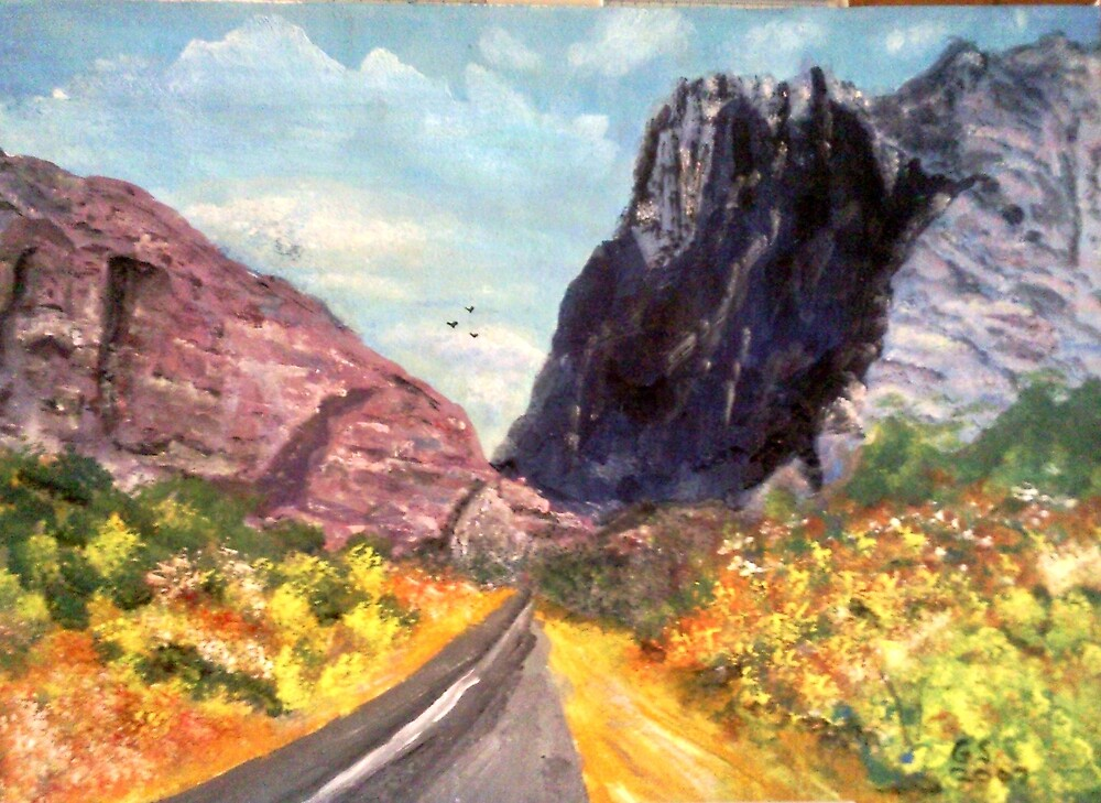 Entrance to the Great Karoo by GEORGE SANDERSON