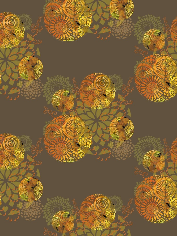 Floral mandalas by DreaMground