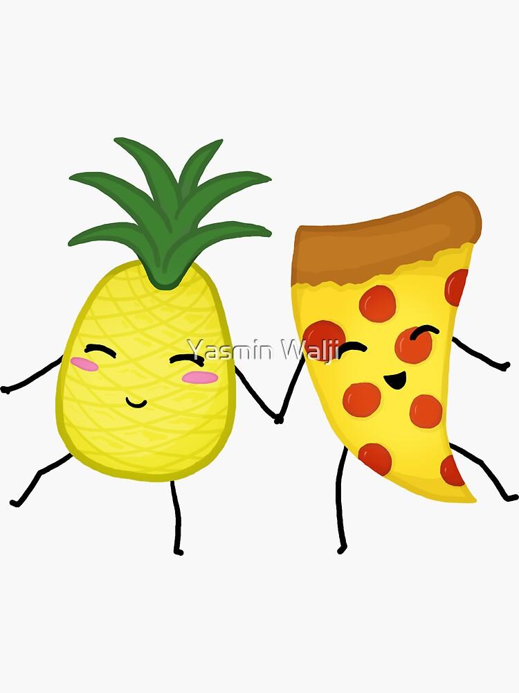 Pineapple + Pizza by YasminWalji