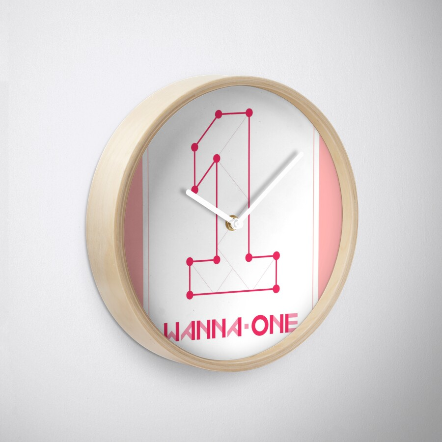 Wanna one1st mini album photo 1x11 to be wanna one1st mini album photo 1x11 to be one pink cover clocks amipublicfo Image collections