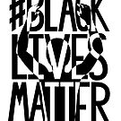 BLACK LIVES MATTER graphic artwork by Heather Freeman