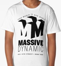 Massive Dynamic – Your World Is Our World Variant Long T-Shirt