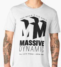Massive Dynamic – Your World Is Our World Variant Men's Premium T-Shirt