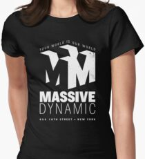 Massive Dynamic – Your World Is Our World Variant Reverse T-Shirt