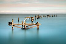 Lost Pier by Peter Vines