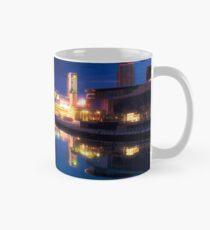 Salford Quays at Night Mug